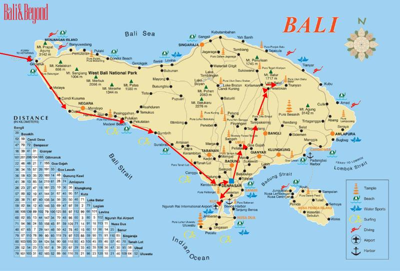 Mike newmans round the world slide show around the world 1977 bali indonesia route map gumiabroncs Images